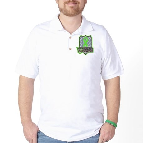 Lymphoma Cancer Survivor Golf Shirt