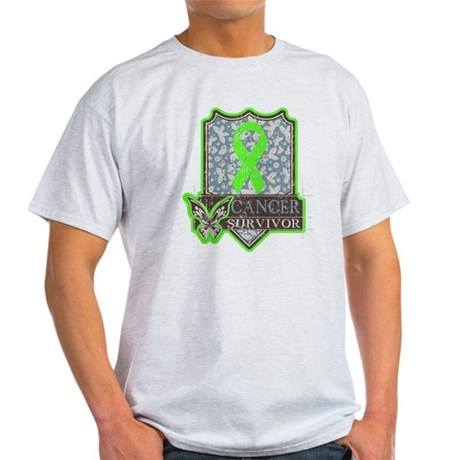 Lymphoma Cancer Survivor Light T-Shirt