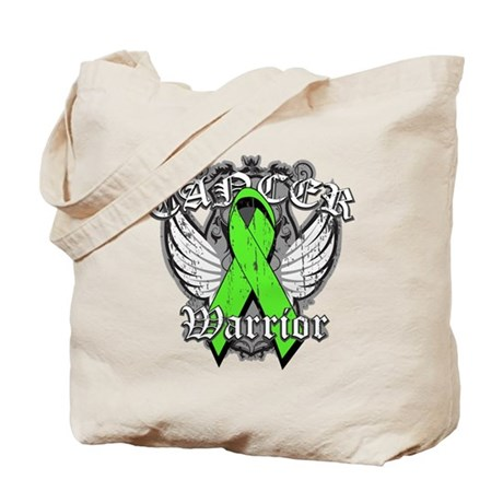 Lymphoma Cancer Warrior Tote Bag