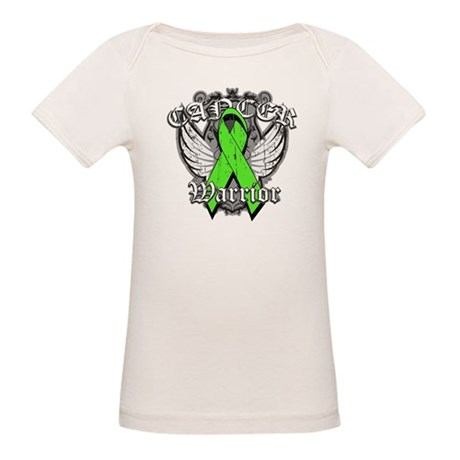 Lymphoma Cancer Warrior Organic Baby T-Shirt