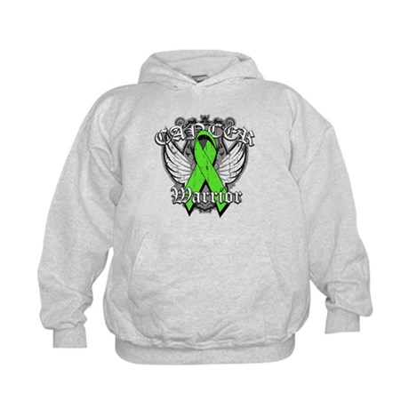 Lymphoma Cancer Warrior Kids Hoodie