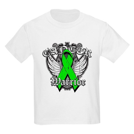 Lymphoma Cancer Warrior Kids Light T-Shirt