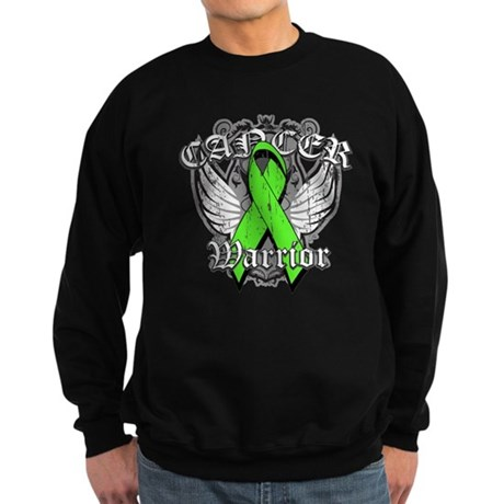 Lymphoma Cancer Warrior Sweatshirt (dark)