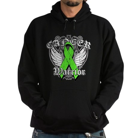 Lymphoma Cancer Warrior Hoodie (dark)