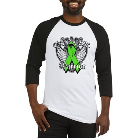 Lymphoma Cancer Warrior Baseball Jersey