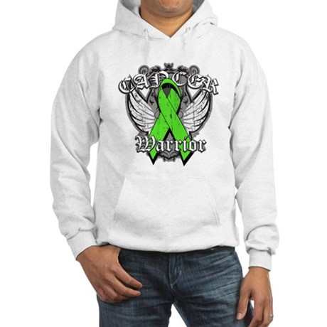 Lymphoma Cancer Warrior Hooded Sweatshirt