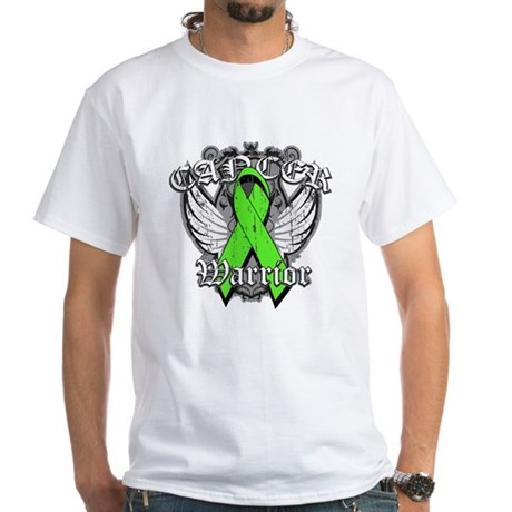 Lymphoma Cancer Warrior White T-Shirt