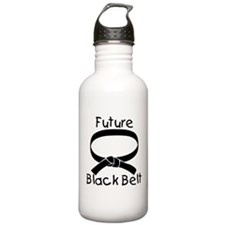 Future Black Belt Sports Water Bottle