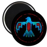 "Blue & Red Thunderbird 2.25"" Magnet (10 pack)"
