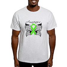Lymphoma Butterfly T-Shirt
