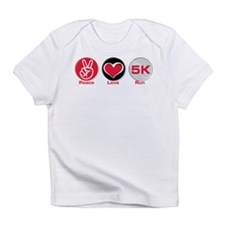 Peace Love Run 5K Infant T-Shirt