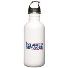 My Aunt in NY Water Bottle