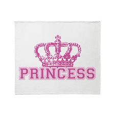 Crown Princess Throw Blanket