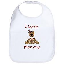 I Love Mommy (Boy) Bib