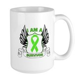I'm a Lymphoma Survivor Ceramic Mugs