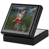 Megan, a Young Fairy Keepsake Box