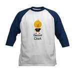Gamer Chick Kids Baseball Jersey