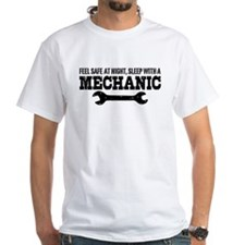 Feel Safe With A Mechanic Shirt