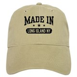 Made In Long Island Baseball Cap