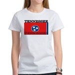 Tennessee State Flag Women's T-Shirt