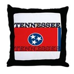 Tennessee State Flag Throw Pillow
