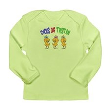 Chicks Dig Tristan Long Sleeve Infant T-Shirt