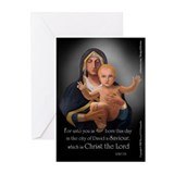 Virgin and Christ Child Christmas Cards (20-Pk)