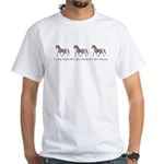 I love ponies White T-Shirt
