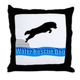 Newfoundland dogs Throw Pillow