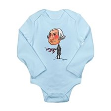 gEoRgE Long Sleeve Infant Bodysuit