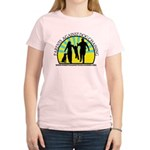 Parents Against Dog Chaining Women's Light T-Shirt