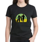 Parents Against Dog Chaining Women's Dark T-Shirt