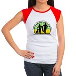Parents Against Dog Chaining Women's Cap Sleeve T-