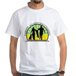 Parents Against Dog Chaining White T-Shirt