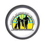 Parents Against Dog Chaining Wall Clock