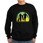 Parents Against Dog Chaining Sweatshirt (dark)
