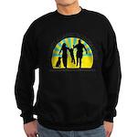 Parents Against Dog Chaining Sweatshirt (dark)