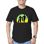 Parents Against Dog Chaining Men's Fitted T-Shirt