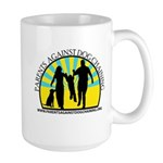 Parents Against Dog Chaining Large Mug