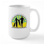 Parents Against Dog Chaining Large Mug
