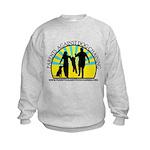 Parents Against Dog Chaining Kids Sweatshirt
