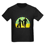 Parents Against Dog Chaining Kids Dark T-Shirt