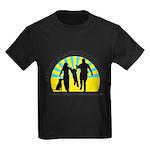 Parents Against Dog Chaining Kids Dark T-Shirt