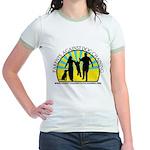 Parents Against Dog Chaining Jr. Ringer T-Shirt