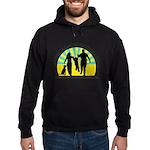 Parents Against Dog Chaining Hoodie (dark)