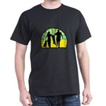 Parents Against Dog Chaining Dark T-Shirt