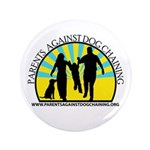 "Parents Against Dog Chaining 3.5"" Button (100"