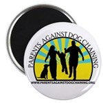 "Parents Against Dog Chaining 2.25"" Magnet (10"