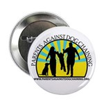 "Parents Against Dog Chaining 2.25"" Button"