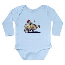 dEaTh dRaGsTeR Long Sleeve Infant Bodysuit